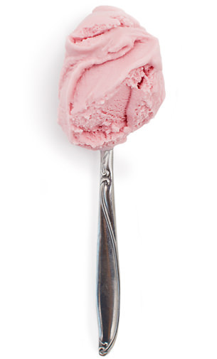 Red Raspberry Frozen Yogurt - Jeni's Splendid Ice Creams