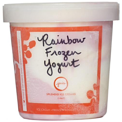 Jeni's Splendid Ice Creams - Rainbow Frozen Yogurt