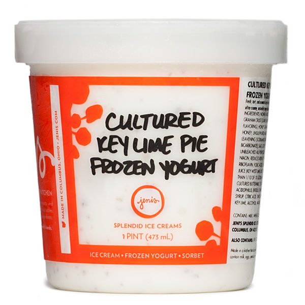 Cultured Key Lime Pie Frozen Yogurt - Jeni's Splendid Ice Creams