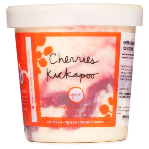 Cherries Kickapoo - Jeni's Splendid Ice Creams