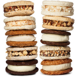 Holiday Ice Cream Sandwiches (10-Pack) - Jeni's Splendid Ice Creams