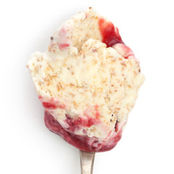 Toasted Brioche with Butter & Raspberry Jam - Jeni's Splendid Ice Creams