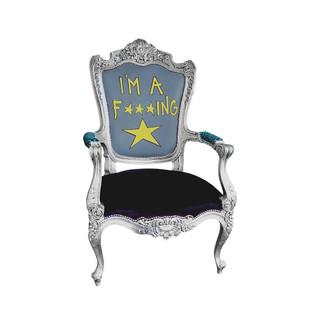 """Im A F*** Star"" Armchair"
