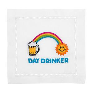 Day Drinker Linen Cocktail Napkins