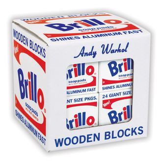 Andy Warhol Brillo Blocks