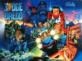 LED Replacement Display for Judge Dredd Pinball Machine