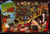 LED Replacement Display for Scared Stiff Pinball Machine