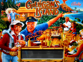 LED Replacement Display for Gilligan's Island Pinball Machine