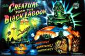 ColorDMD Replacement Display for Creature from the Black Lagoon Pinball Machine