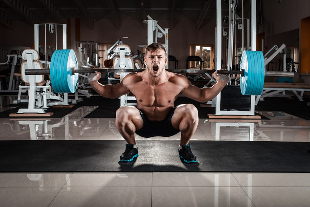 Ultimate Muscle Building Routine That Will Transform Your Body From A Before to An After!  AKA - The Squat Routine!