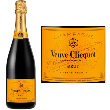 Veuve Clicquot Ponsardin Yellow Label Brut NV