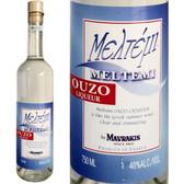 Mavraki Meltemi Ouzo Greek Liqueur 750ml
