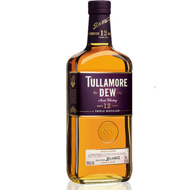 Tullamore Dew 12 Year Old Irish Whiskey 750ml
