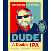 Oceanside Ale Works Dude Double IPA 22oz