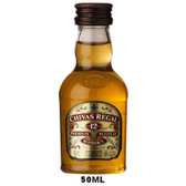 50ml Mini Chivas Regal 12 Year Old Blended Scotch