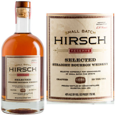 Hirsch Small Batch Reserve Selected Straight Bourbon Whiskey 750ml