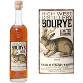 High West Limited Release BouRye Whiskey 750ml