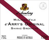d'Arenberg d'Arrys Original Grenache Shiraz
