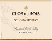 Clos Du Bois Russian River Reserve Chardonnay