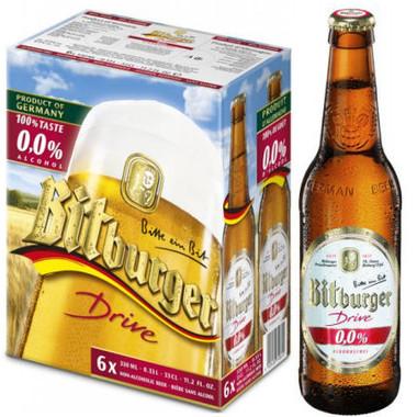 Bitburger Drive Alcohol Free 330ml 6-Pack