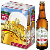 Bitburger Drive Alcohol Free 330ml 6-Pack