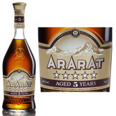 Ararat 5 Year Old Armenia Brandy 750ml