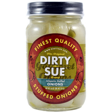 Dirty Sue Jalapeno Stuffed Onions 16oz
