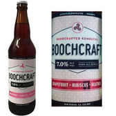 Boochcraft Grapefruit Hibiscus and Heather Kombucha 22oz