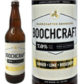 Boochcraft Ginger Lime and Rosehips Kombucha 22oz