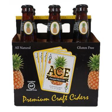 Ace Pineapple Hard Cider 12oz 6 Pack
