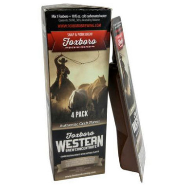 Foxboro WESTERN Brew Concentrate 4-Pack
