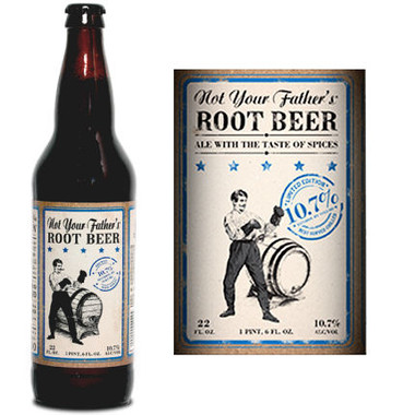 Small Town Brewery Not Your Father's Root Beer 10.7% ABV 22oz