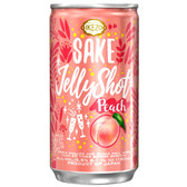 Ozeki Ikezo Peach Sparkling Jelly Sake 180ml Can