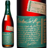 Booker's Limited Edition Big Time Batch Rye Whiskey 2016 750ml