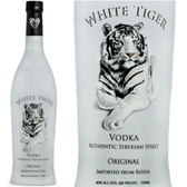 White Tiger Siberian Vodka 750ml