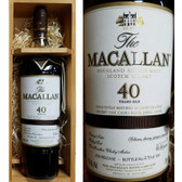 Macallan 40 Year Old Sherry Cask Highland Single Malt Scotch 2016 750ml
