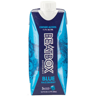BeatBox Beverages Blue Razzberry Lemonade 500ml