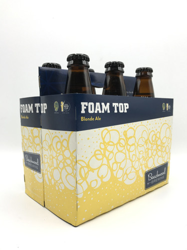 Beachwood Brewing Foam Top Blonde Ale 12oz 6 Pack