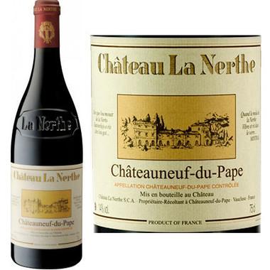 Chateau la nerthe chateauneuf du pape rouge for Chateau la nerthe