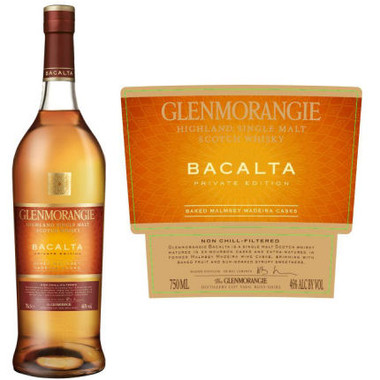 Glenmorangie Bacalta Private Edition Single Malt Scotch 750ml