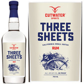 Cutwater Spirits Three Sheets California Small Batch Rum 750ml