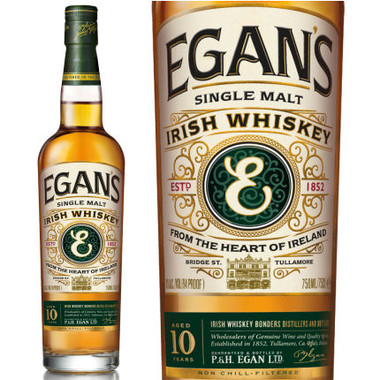 Egan's 10 Year Old Single Malt Irish Whiskey 750ml