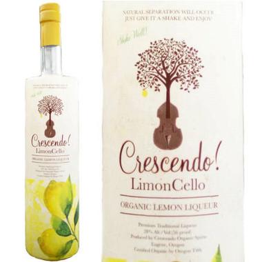 Crescendo! LimonCello Organic Lemon Liqueur 750ml