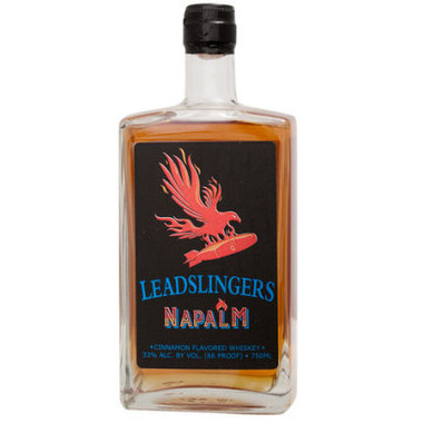Leadslingers Napalm Cinnamon Whiskey 750ml