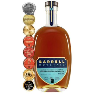 Barrell Bourbon Batch 14 9 Year Old Cask Strength Bourbon Whiskey 750ml