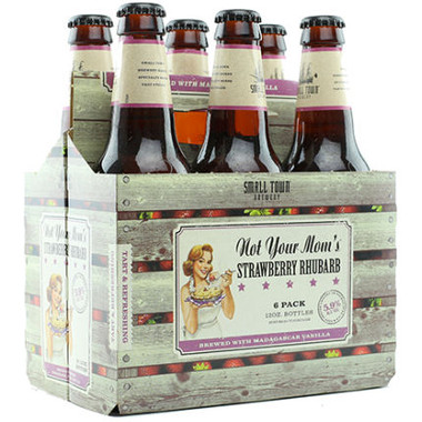 Small Town Brewery Not Your Mom's Strawberry Rhubarb 12oz 6 Pack