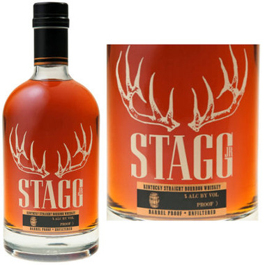 Stagg Jr Barrel Proof Straight Bourbon Whiskey 750ml