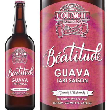 Council Brewing Beatitude Guava Tart Saison 750ml