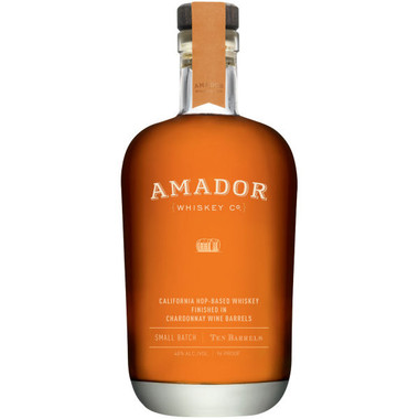 Amador Ten Barrels 4th Release Chardonnay Finished Kentucky Straight Bourbon 750ml
