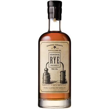 Sonoma County Distilling Sonoma Rye Whiskey 750ml